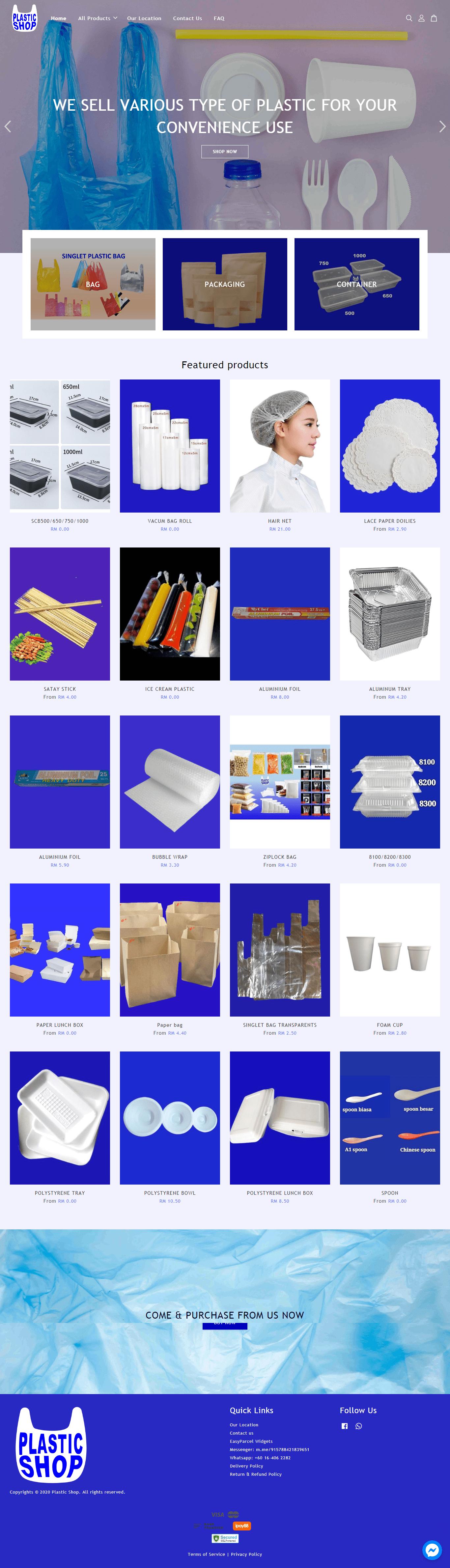 Plastic Shop